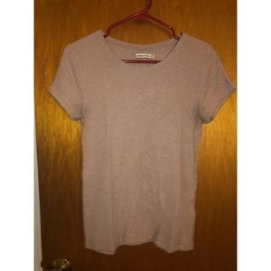 Abercrombie and Fitch Ribbed T Shirt